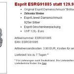 ESPRIT Schmuck Sale