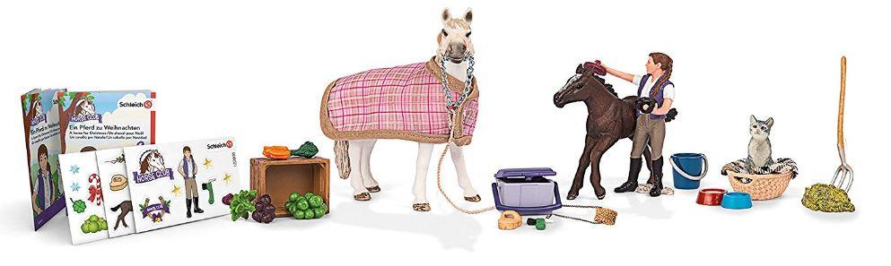schleich adventskalender pferde reduziert im sale