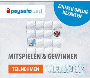 paysafecard gewinnen